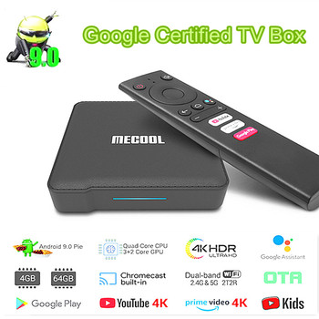 Mecool Km1 Smart Android 9.0 TV BOX Classic